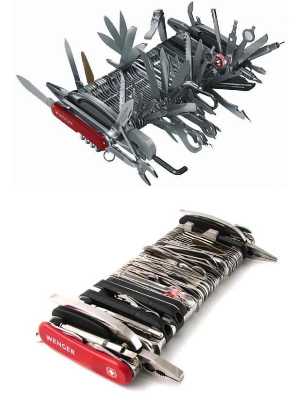 couteau suisse geant